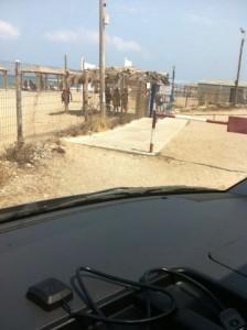 חוף שבי ציון כניסה לא נגישה